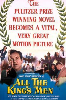 Films, August 07, 2019, 08/07/2019, All the King's Men (1949): Three Time Oscar Winning Film Noir