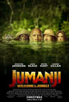 Films, September 28, 2019, 09/28/2019, Jumanji: Welcome to the Jungle (2017): Third Of The Series WithDwayne Johnson