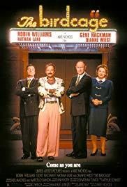 Movie in a Parks, June 24, 2019, 06/24/2019, Mike Nichols's The Birdcage (1996): Comedy with Robin Williams, Nathan Lane, Gene Hackman (Outdoors)