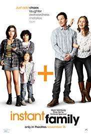 Films, March 20, 2020, 03/20/2020, !!!CANCELLED!!! Instant Family (2018): Couple Adopts Three Children !!!CANCELLED!!!