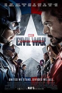 Films, July 13, 2019, 07/13/2019, Captain America: Civil War (2016): Superheros Against Each Other