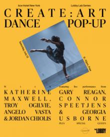 Dance Performances, July 13, 2019, 07/13/2019, Create: ART Dance Pop-Up Performance