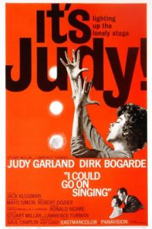 Films, August 17, 2019, 08/17/2019, I Could Go on Singing (1963): Musical Drama With Judy Garland