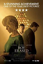 Films, July 10, 2019, 07/10/2019, Boy Erased (2018): Victim of Gay-Conversion Therapy