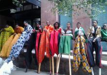 Dance Performances, August 11, 2019, 08/11/2019, Harlem Meer Performance Festival: Stilt-Walking and Dance