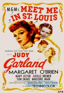 Films, August 13, 2019, 08/13/2019, Meet Me in St. Louis (1944): Four Time Oscar Nominated Comedy Drama With Judy Garland