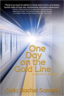 Author Readings, August 06, 2019, 08/06/2019, 2 New Books: One Day on the Gold Line / Dear Jane