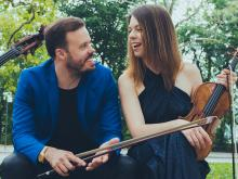 Concerts, August 08, 2019, 08/08/2019, Violin-Bass Duo Draws on Appalachian Music, Classical, Jazz, and R&B