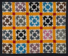 Gallery Talks, August 15, 2019, 08/15/2019, Wall Power! Quilts from the Werner and Karen Gundersheimer Gift: Exhibition Walkthrough