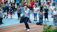Dancings, July 31, 2019, 07/31/2019, Midtown Salsa: Class and Dance Party
