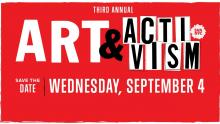 Discussions, September 04, 2019, 09/04/2019, Art & Activism: Takin' It to the Streets