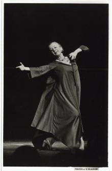 Screenings, July 29, 2019, 07/29/2019, Documentary: Dance in America: Agnes, the Indomitable de Mille (1987)