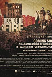 Movie in a Parks, August 23, 2019, 08/23/2019, Decade of Fire (2019): Documentary on an Epidemic in 1970s Bronx (Outdoors)