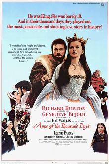 Films, August 16, 2019, 08/16/2019, Anne of the Thousand Days (1969): Oscar Winning Historical Drama With Richard Burton