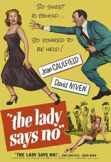 """Films, August 17, 2019, 08/17/2019, The Lady Says No (1951): Writer Of The Book About The """"Dangers"""" Of Men"""