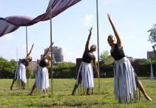 Dance Performances, August 03, 2019, 08/03/2019, Ephemera: An Afrofuturist Site-Specific Dance/Media Work
