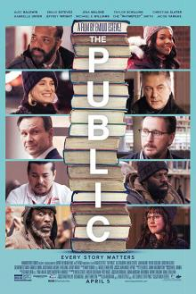 Films, August 12, 2019, 08/12/2019, The Public (2018) With Alec Baldwin: An Act Of Civil Disobedience