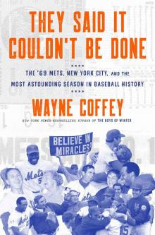 Author Readings, September 30, 2019, 09/30/2019, They Said It Couldn't Be Done: The '69 Mets, New York City, and the Most Astounding Season in Baseball History