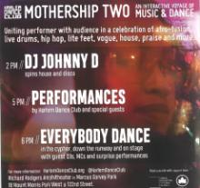 Dance Performances, September 21, 2019, 09/21/2019, Mothership Two: Interactive Voyage of Music and Dance