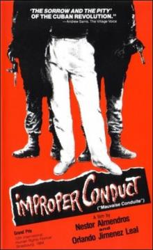 """Films, September 28, 2019, 09/28/2019, Improper Conduct (1984): A Documentary On The """"Antisocials"""" Of Cuba"""