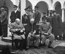 Lectures, October 04, 2019, 10/04/2019, FDR's Final Odyssey: D-Day to Yalta, 1943-1945