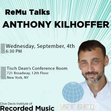 Talks, September 04, 2019, 09/04/2019, Anthony Kilhoffer, 4-Time Grammy Award-Winning Producer