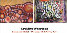 Gallery Talks, September 11, 2019, 09/11/2019, Graffiti Warriors: Pistol and Bama -- Pioneers of Subway Art