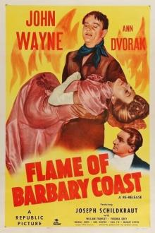 Films, September 12, 2019, 09/12/2019, Flame of Barbary Coast (1945): Two Time Oscar Nominated Western With John Wayne