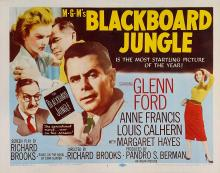Films, September 14, 2019, 09/14/2019, Blackboard Jungle (1955): Four Time Oscar Nominated Crime Drama