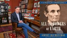 Author Readings, September 24, 2019, 09/24/2019, All the Powers of Earth: The Political Life of Abraham Lincoln, 1856-1860