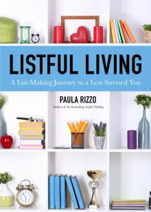 Author Readings, September 19, 2019, 09/19/2019, Listful Living: A List-Making Journey to a Less Stressed You