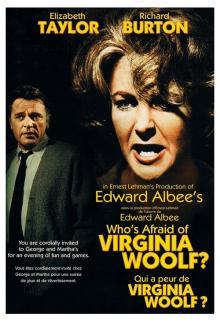 Films, September 26, 2019, 09/26/2019, Who's Afraid of Virginia Woolf? (1966): Five Time Oscar Winning Drama WithElizabeth Taylor And Richard Burton
