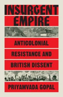 Author Readings, September 17, 2019, 09/17/2019, Insurgent Empire: Anticolonial Resistance and British Dissent