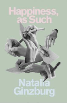Book Discussions, September 16, 2019, 09/16/2019, The Works of Italian Writer Natalia Ginzburg