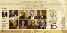 Symposiums, October 16, 2019, 10/16/2019, Louis Armstrong Continuum Symposium