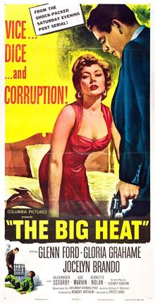 Films, October 03, 2019, 10/03/2019, The Big Heat (1953): Experienced Cop After Corruption