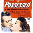 Films, October 10, 2019, 10/10/2019, Possessed (1947): Oscar Nominated Film-Noir Drama