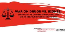 Discussions, October 16, 2019, 10/16/2019, War on Drugs vs. Rights