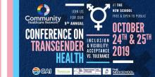 Conferences, October 24, 2019, 10/24/2019, Conference on Transgender Health