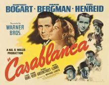 Films, February 11, 2020, 02/11/2020, Casablanca (1942): Three Time Oscar Winning Drama With Humphrey Bogart And Ingrid Bergman,