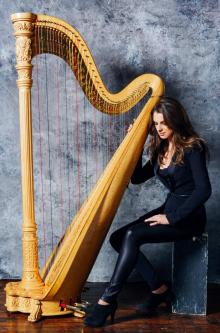 Concerts, December 10, 2019, 12/10/2019, Works by J.S.Bach and Tchaikovsky for Harp
