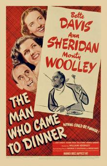 Films, December 02, 2019, 12/02/2019, The Man Who Came to Dinner (1942):Comedy With Bette Davis and Monty Woolley