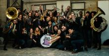 Concerts, December 02, 2019, 12/02/2019, Winter's Eve: Brass Band Covers Jazz, Funk, Pop, and Hip-Hop