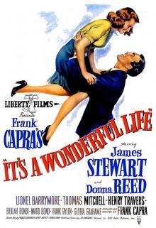 Films, December 19, 2019, 12/19/2019, !!!CANCELLED!!! Frank Capra's It's a Wonderful Life (1946): Five Time Oscar Nominated Christmas Fantasy Drama !!!CANCELLED!!!