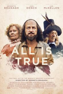 Films, December 02, 2019, 12/02/2019, All Is True (2018) With Kenneth Branagh, Judi Dench And Ian McKellen: The Final Days Of William Shakespeare