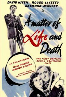 Films, December 05, 2019, 12/05/2019, A Matter of Life and Death (1946): Fantasy Romance Shot Right After The Second World War