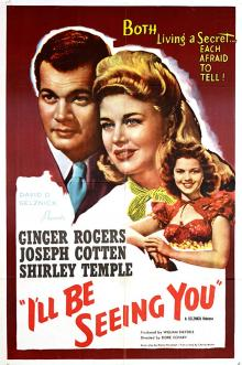 Films, December 09, 2019, 12/09/2019, I'll Be Seeing You (1944): Christmas Romance