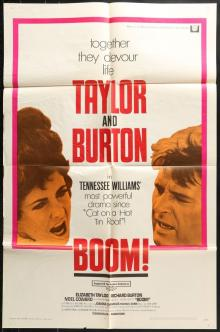 Films, December 02, 2019, 12/02/2019, Boom! (1968): Drama WithElizabeth Taylor And Richard Burton