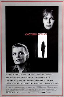 Films, December 23, 2019, 12/23/2019, Woody Allen'sAnother Woman (1988): DramaWithGena Rowlands