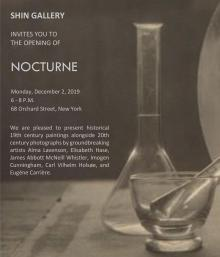 Opening Receptions, December 02, 2019, 12/02/2019, Nocturne: Tonalism, Pictorialism, and Modernism